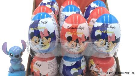 玩具SHOW米奇妙妙屋 史迪奇拆米奇妙妙屋卡通玩具蛋 史迪奇拆奇妙妙屋玩具蛋