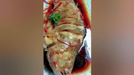清蒸大黄花鱼的做法, 好吃美味又能待客