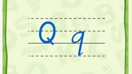 一年级复习内容--大小写字母书写顺序