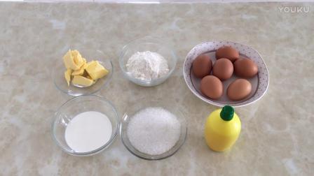 饼干烘焙教程 千叶纹蛋糕的制作方法 手工烘焙视频教程全集