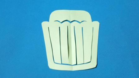 剪纸小课堂: 蛋糕, 儿童喜欢的手工DIY, 动手又动脑