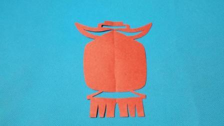 剪纸小课堂: 宫灯, 儿童喜欢的手工DIY, 动手又动脑