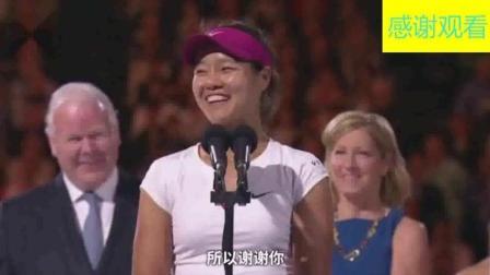 """在老外前""""班门弄斧""""说英语甩爆笑段子, 中国体育圈最牛李娜"""