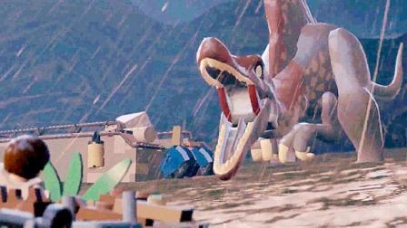 乐高侏罗纪世界pc版26决战棘龙, 烤恐龙肉咯! 小鸢实况