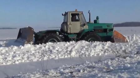 高深度除雪巨型机: 平地机, 卡车, 装载机, 推土机, 挖掘机