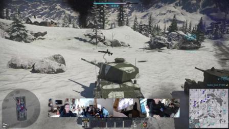 2018-3-12《战争雷霆》极光耀斑 陆战街机娱乐 战区控制 阿尔卑斯 冰风谷 三式中战车改