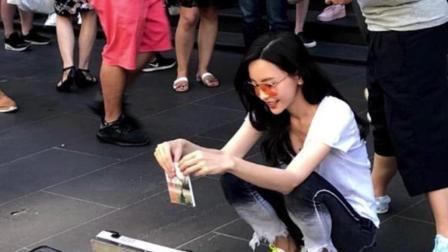 《前任3》票房大卖, 二十亿女主于文文却在街头卖唱, 自降身价!
