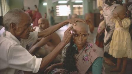"""印度寺庙倒卖""""处女发"""", 每年获利1.9亿!"""