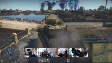 2018-3-12《战争雷霆》极光耀斑 陆战街机娱乐 战区控制 东欧 虎式坦克E型