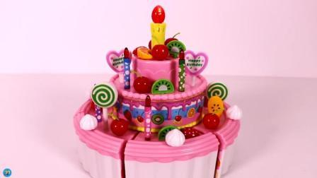 做精美水果蛋糕, 各种玩具, 小臭臭亲子游戏