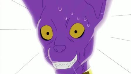 龙珠: 当维斯说出对手是龙之神萨拉玛的时候, 悟空他们的表情亮了