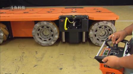 全方位无死角随意移动的全功能车轮你们见过么?