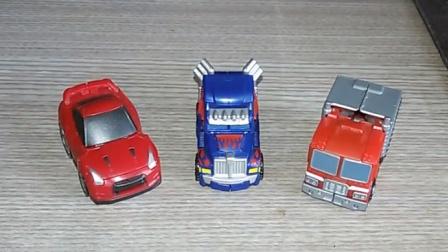 小津的变形金刚玩具视频—官方TT社QT01、09、19擎天柱