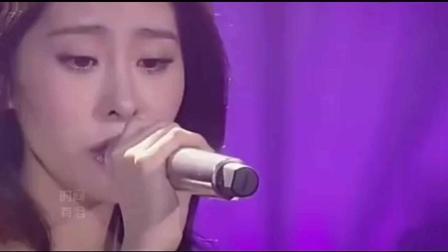 张碧晨第一次亮相我是歌手, 就把所有人镇住了