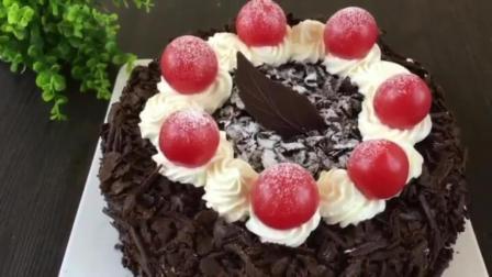 烘培培训班 生日蛋糕简单裱花 轻芝士蛋糕的做法