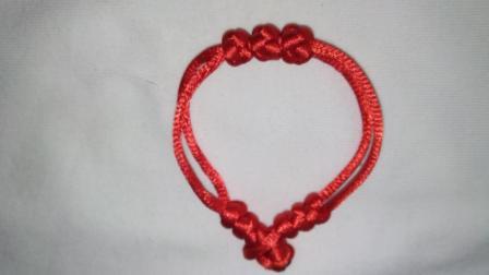 三生石手链编织简单手链编织