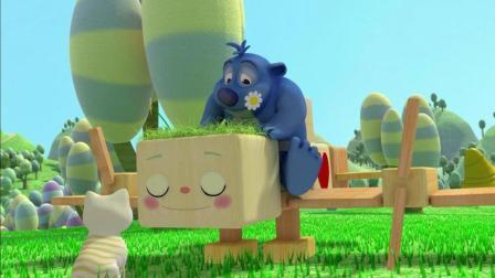 036 蓝色的小熊