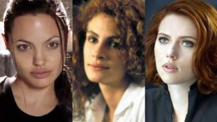 当代好莱坞四大女影星, 好莱坞的性感象征