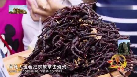 中国人都不敢轻易尝试, 柬埔寨油炸毒蜘蛛, 中国广东人都不敢吃