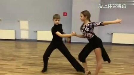 舞蹈没灵感? 看看这个《少儿慢恰恰》数节奏, 超慢动作示范