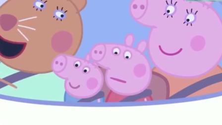 小猪佩奇: 孩子生病猪妈妈做兽医飞机看病去