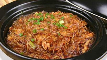 肉末粉丝煲最地道的做法, 步骤清晰详细, 汤汁泡饭可以多来好几碗