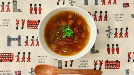 贝贝粒视频 第一季 96  营养师推荐的12-18个月宝宝辅食食谱:西红柿胡萝卜牛肉汤