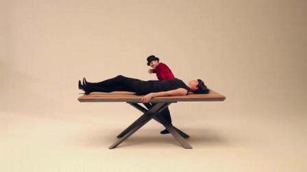 一个智能家具的创意广告, 太有意思了!