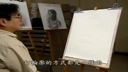 速写素描人体比例结构详解 素描怎么画人 美术素描图片大全简单