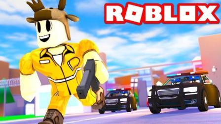 【Roblox建筑工地逃生】工地遭遇袭击! 空中危机逃出绝命镇! 小格解说 乐高小游戏