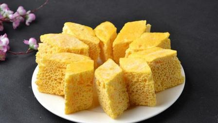 玉米面神奇吃法, 开水一烫, 几分钟就能做出美味食品, 太好吃