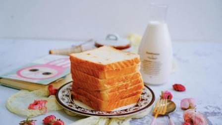我的日常料理 第一季 超详细步骤教你制作完美的吐司 中种北海道蜂蜜粒吐司