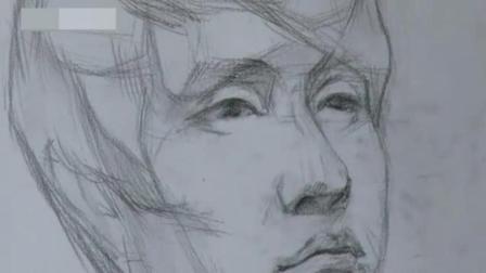 怎么学习素描 素描头像照片 铅笔画动漫人物教程