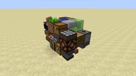 我的世界: 如何快速制作2X2小房子, 麻雀虽小, 五脏俱全