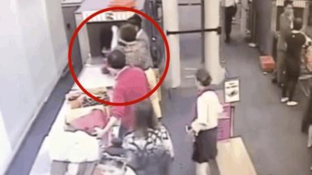 泰国女安检偷窃中国游客财物 手法娴熟却辩称初犯