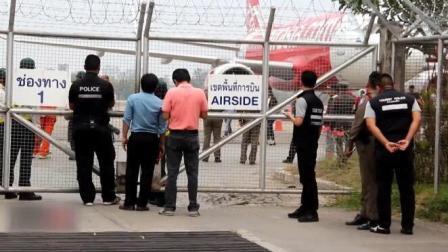 泰国亚洲航空载上百人客机引擎故障紧急迫降