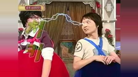 超级经典的韩国搞笑综艺节目, 满满的套路  还是农村好