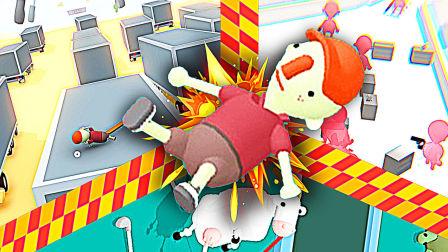 【屌德斯解说】 高尔夫搞怪器 各种搞笑游戏元素融合于一体!模拟山羊跳卡车以及燥热!
