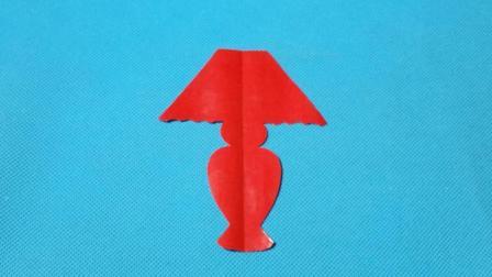 剪纸小课堂: 台灯4, 儿童喜欢的手工DIY, 动手又动脑