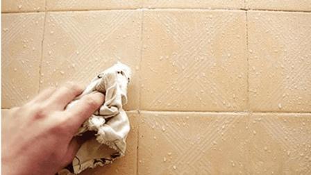 瓷砖太脏别再费力擦了, 几毛钱, 教你自制瓷砖清洁剂, 一抹就干净!