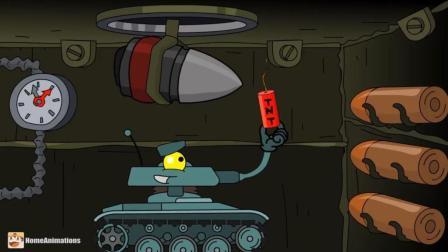 坦克世界搞笑动漫: 说什么好呢! 你为何要在弹药仓放鞭炮玩呢?