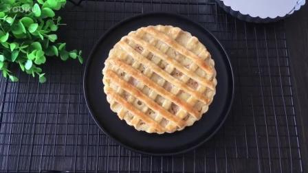 烘焙燕窝月饼做法视频教程 网格蜜桃派的制作方法 烘焙蛋糕视频教程