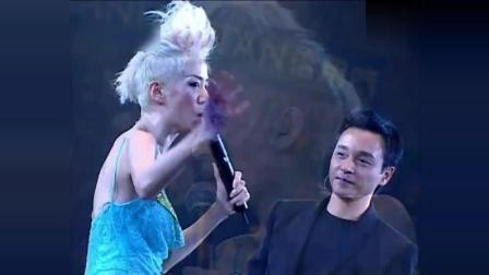 患抑郁症的张国荣最后一次登台, 与梅艳芳没有彩排的演出成为绝唱