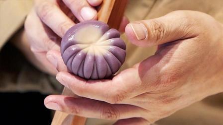 日本顶级糕点师现场制作点心, 外形太美太诱人, 这技术绝对一流!