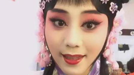 王梦婷京剧扮相唱《探清水河》, 这个韵味上台唱效果就更好了