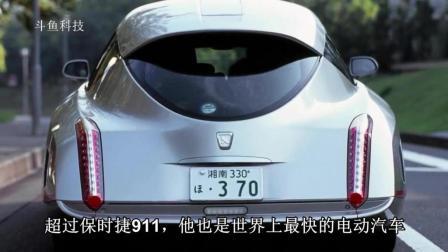 世界最快的八轮电动车时速超过保时捷911
