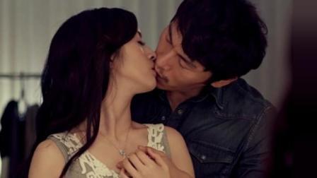 屌丝男拿殊制项链诱惑美女, 林依晨瞬间乱情失控激吻男子嘴唇