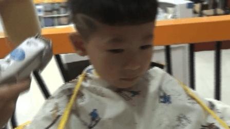 儿童理发培训技术视频教程男孩帅气短发雕刻