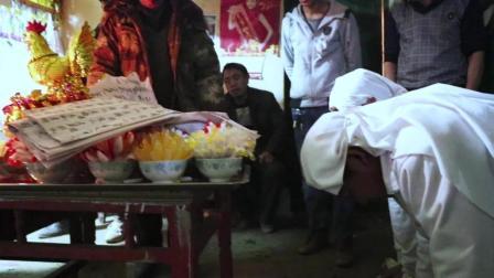 贵州祀民间祭老人逝世念《奠章》, 听完哭声一片!