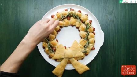 二分钟学会做西式美食-香肠面包卷